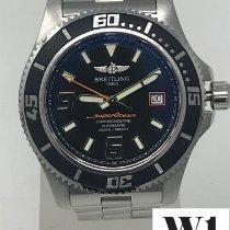 Breitling Superocean 44 Acero 44mm Negro Arábigos