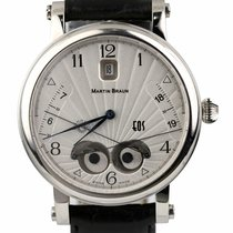 Martin Braun Steel Automatic Silver 42mm