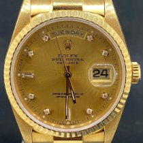 Rolex 18238 Or jaune 1993 Day-Date 36 36mm occasion