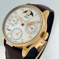 IWC Portuguese Perpetual Calendar Rose gold 42.7mm Silver Arabic numerals United States of America, California, Los Angeles