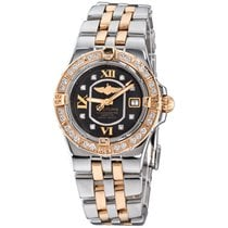 Breitling Galactic 30 Gold/Steel 30mm Black Roman numerals United States of America, New York, Greenvale