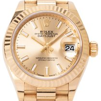 Rolex Lady-Datejust Yellow gold 28mm