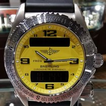 Breitling Emergency Titanium 43mm Yellow Arabic numerals United States of America, Texas, Dallas