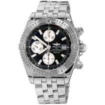 Breitling Chronomat Evolution Steel 44mm Black No numerals United States of America, New York, Greenvale