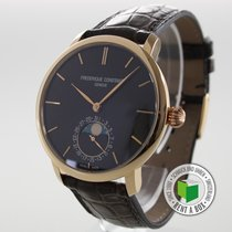 Frederique Constant Manufacture Slimline Moonphase occasion 42mm Cuir
