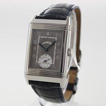 Jaeger-LeCoultre Platinum Manual winding Arabic numerals 26mm pre-owned Reverso (submodel)