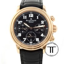 Blancpain Léman Fly-Back Rose gold 38mm Black Arabic numerals United States of America, New York, New York