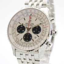 Breitling Navitimer Rattrapante Steel 45mm Silver