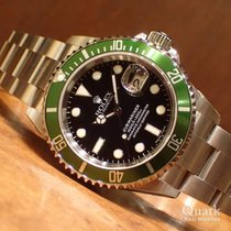 롤렉스 서브마리너 데이트 스틸 40mm 녹색