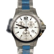 Longines Conquest Steel 36mm Silver
