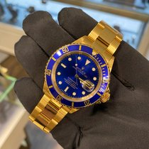 Rolex Submariner Date 16618 Sehr gut Gelbgold 40mm Automatik Schweiz, Basel