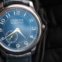 F.P.Journe Tantalum Manual winding Blue 39mm new Souveraine