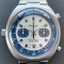 Breitling 2129 Сталь 1975 Transocean Chronograph 42mm подержанные
