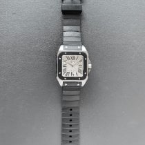 Cartier Santos 100 Steel 38mm Silver Roman numerals United States of America, Florida, Aventura