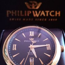Philip Watch Sea Horse Steel Black Roman numerals