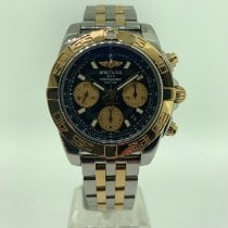 Breitling Gold/Steel 41mm Automatic CB011012/B968 pre-owned
