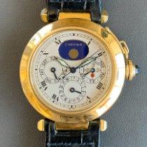 Cartier Pasha Желтое золото 38mm Cеребро Римские