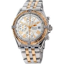 Breitling Crosswind Racing Gold/Steel 42mm White Roman numerals United States of America, New York, Greenvale