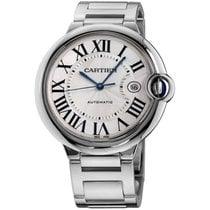 Cartier Ballon Bleu 42mm White gold 42mm Silver Roman numerals United States of America, New York, Greenvale