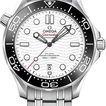 Omega Seamaster Diver 300 M Steel 42mm White No numerals United States of America, Iowa, Des Moines