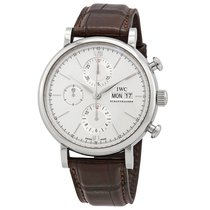 IWC Portofino Chronograph nuevo 2020 Automático Cronógrafo Reloj con estuche y documentos originales IW391027