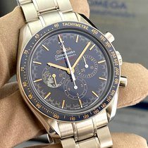 Omega Speedmaster Professional Moonwatch Steel 42mm Blue No numerals United States of America, Georgia, Atlanta
