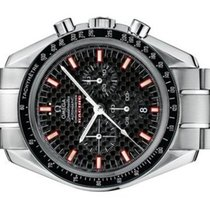 Omega Speedmaster Racing occasion 42mm Noir Chronographe Date Acier
