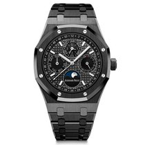 Audemars Piguet Royal Oak Perpetual Calendar Ceramic 41mm Black No numerals
