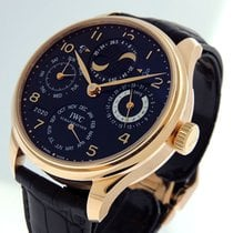 IWC Portuguese Perpetual Calendar Rose gold 44mm Black Arabic numerals United States of America, California, Los Angeles