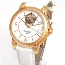 Tissot Lady 80 Automatic Acero y oro 35mm Blanco