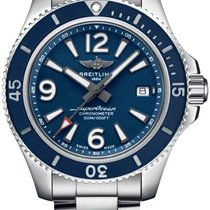 Breitling Superocean 42 Steel 42mm Blue United States of America, New York, Airmont
