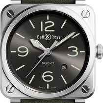 Bell & Ross BR 03-92 Steel Steel 42mm Grey United States of America, New York, Airmont