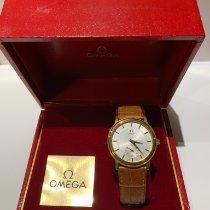 Omega De Ville Prestige Жёлтое золото 37mm Cеребро Без цифр