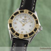 Breitling Lady J Acero y oro 31mm Blanco