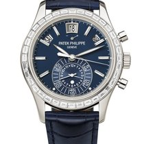 Patek Philippe Annual Calendar Chronograph Platino Azul