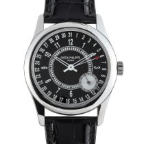 Patek Philippe Calatrava White gold 37mm Black Arabic numerals United States of America, Pennsylvania, Southampton