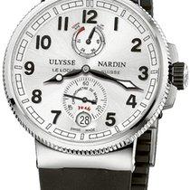Ulysse Nardin 1183-126-3-61 Сталь Marine Chronometer Manufacture 43mm новые