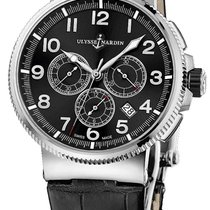 Ulysse Nardin Marine Chronograph new Automatic Chronograph Watch with original box Reference