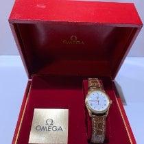 Omega Or jaune Remontage automatique Blanc Romains 27mm nouveau Speedmaster Ladies Chronograph