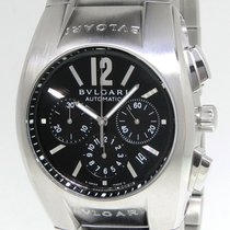 Bulgari Ergon Steel 40mm Black