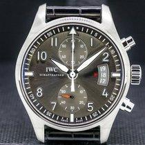 IWC Pilot Spitfire Chronograph Acero 43mm Gris Árabes