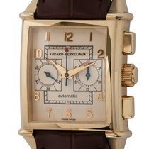 Girard Perregaux Vintage 1945 Yellow gold 30mm Silver Arabic numerals United States of America, Texas, Austin