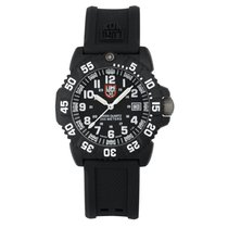 Luminox Colormark Carbon 38mm Black Arabic numerals
