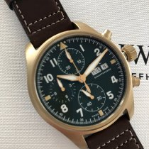 IWC Pilot Spitfire Chronograph IW387902 New Bronze 41mm Automatic