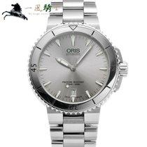 Oris Aquis Date Steel 40mm Silver