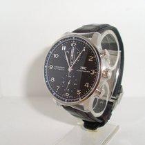 IWC Portugieser Chronograph neu 2019 Automatik Chronograph Uhr mit Original-Box und Original-Papieren IW371447