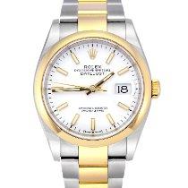 Rolex Datejust 126203 Meget god Guld/Stål 36mm Automatisk