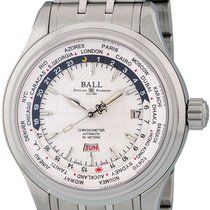 Ball Trainmaster Worldtime new Automatic Watch with original box and original papers GM2020D-SCJ-WH