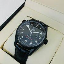 TAG Heuer Titanium Automatic Black 43mm new Carrera Calibre 5
