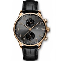 IWC Portuguese Chronograph IW371482 Unworn Red gold 40.9mm Automatic